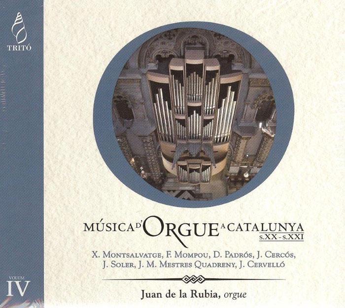 2011 CD Música d'Orgue a Catalunya, Juan de la Rubia, orgue